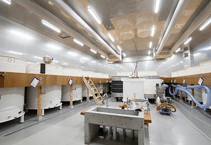 白糸酒造 冷蔵空間